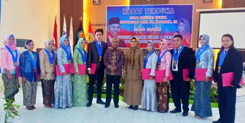 Fakultas Hukum Yudisium 135 Mahasiswa