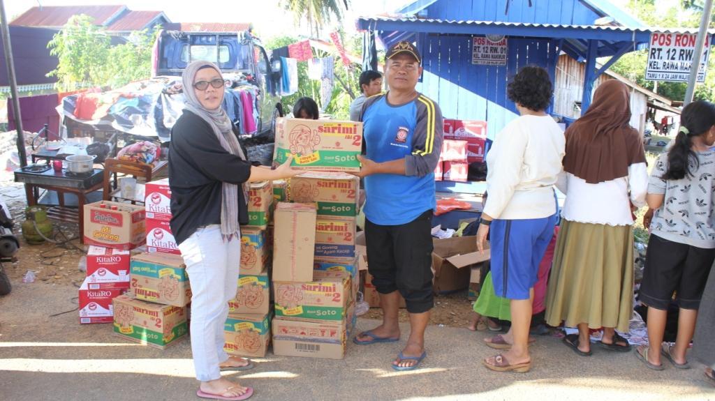 UNIHAZ PEDULI – UNIHAZ Salurkan Bantuan Korban Banjir Bengkulu