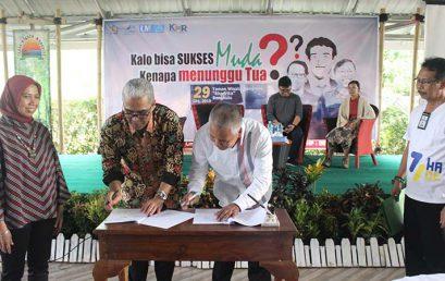 Penandatanganan MOU Kerjasama UNIHAZ dengan Kanwil DJPBN Provinsi Bengkulu
