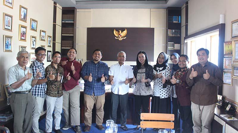 UNIHAZ Siap Jalin Kerjasama dengan Komisi Pemberantasan Korupsi (KPK)