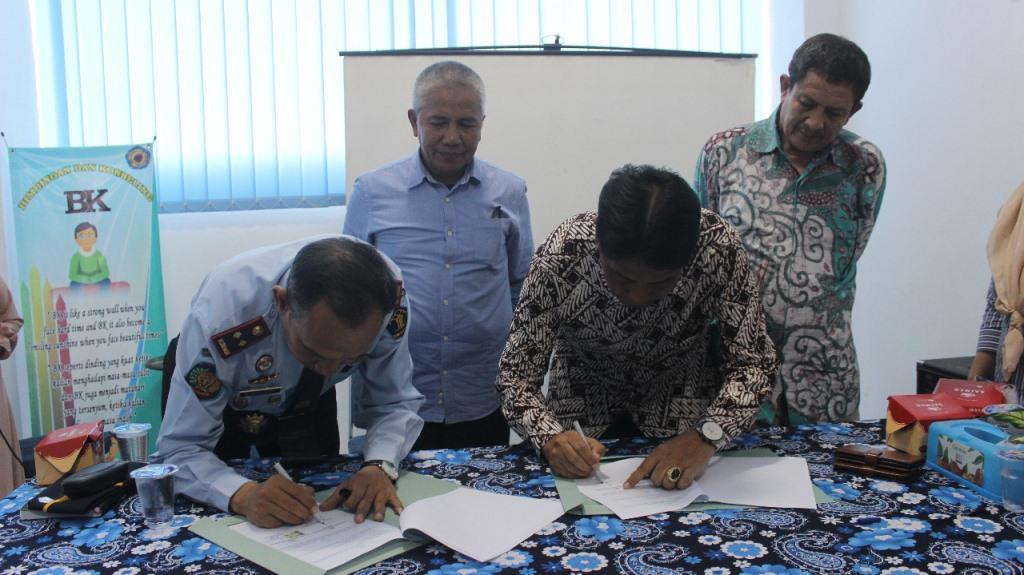 Penandatanganan MOU Kerjasama FKIP dengan Balai Pemasyarakatan (BAPAS) Kelas II Bengkulu