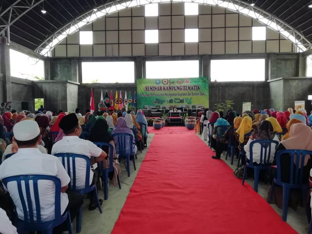 "Seminar Kampung Tematik ""Remunggai"""