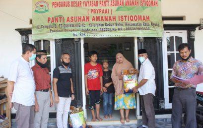 UNIHAZ Salurkan Bantuan ke Panti Asuhan di Kota Bengkulu