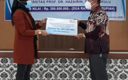 Penyerahan Bantuan Beasiswa Indonesia Cerdas (BIC)